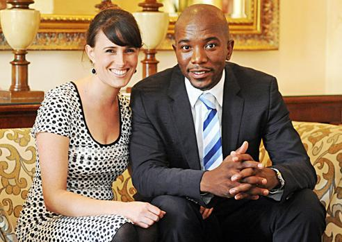 Mmusi and Wife